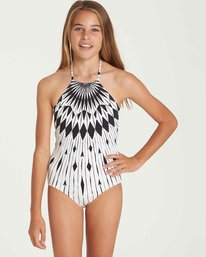 0 Girls' Sundial One Piece Swim  Y106QBSU Billabong