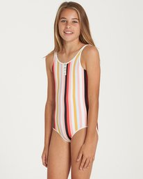 1 Girls' Come On By One Piece Swim  Y107QBCO Billabong