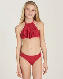 0 Girls' Sol Searcher High Neck Swim Set  Y201MSOL Billabong
