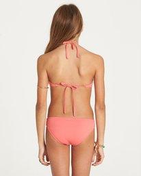 2 Girls' Sol Searcher High Neck Swim Set Pink Y202LSOL Billabong