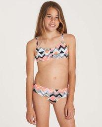 0 Girls' Zigginz Crossback Swim Set  Y203NBZI Billabong