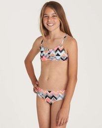 1 Girls' Zigginz Crossback Swim Set  Y203NBZI Billabong