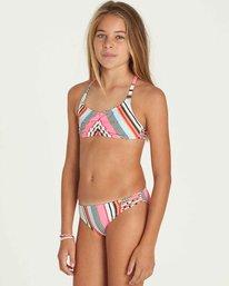 1 Girls' Like That Crossback Swim Set  Y203PBLI Billabong