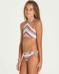 1 Girls' Like That High Neck Swim Set  Y204PBLI Billabong