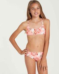 0 Girls' All Along Crossback Swim Set  Y204QBAL Billabong