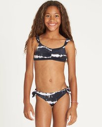 8967feddeaed4 WASHED OUT TALI SET Y217TBWA. Girls  Washed Out Tali Bikini Set