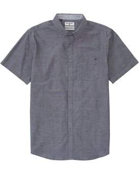 ALL DAY CHAMBRAY SS  B518JALL