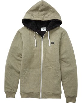 ALL DAY SHERPA ZIP  M660QBAS