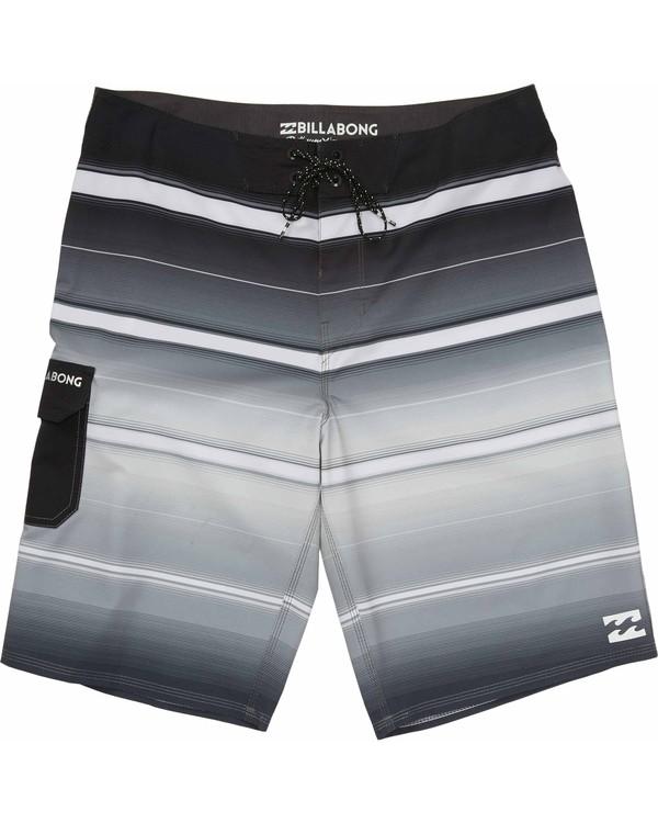 0 Boys' All Day X Stripe Boardshorts  B108JASX Billabong