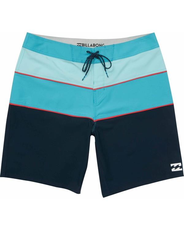 0 Boys' Tribong X Boardshorts Blue B114MTRX Billabong