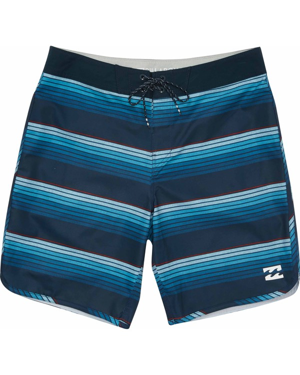 0 Boys' 73 X Line Up Boardshorts  B115MLIN Billabong