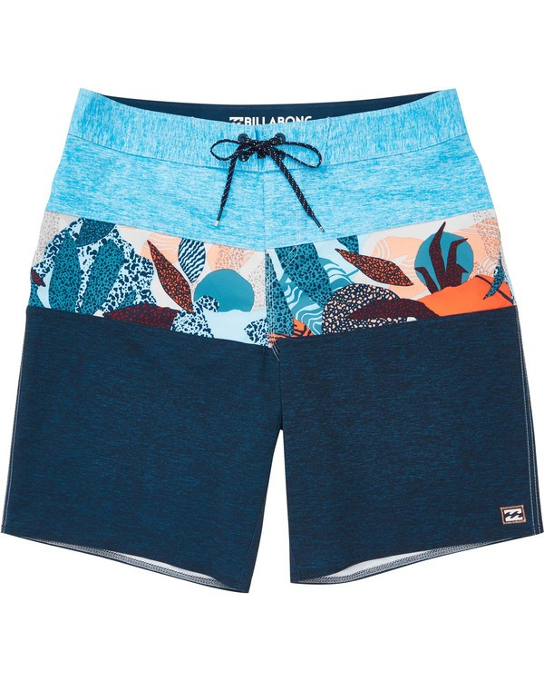 0 Boys' Tribong  Pro Boardshorts Blue B120TBTB Billabong