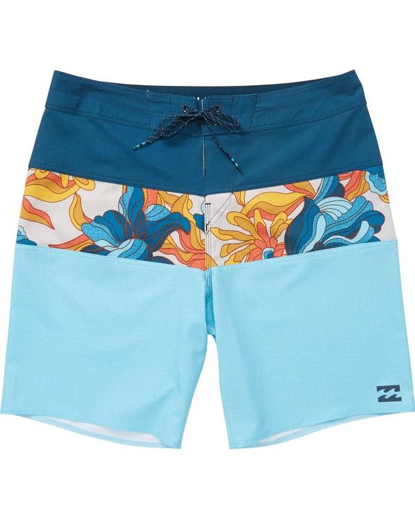 0 Boys' Tribong X Boardshorts Blue B121NBTB Billabong