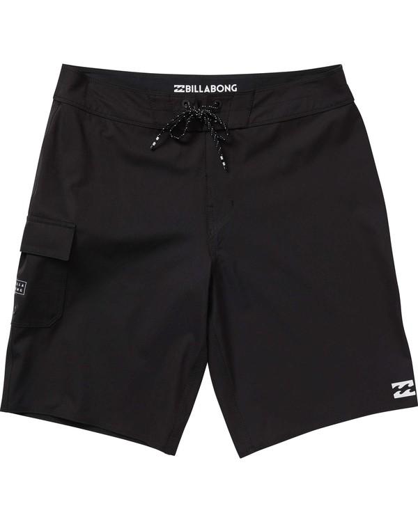 0 Boys' All Day X Boardshorts Black B124NBAL Billabong