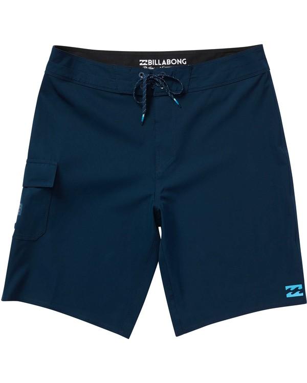 0 Boys' All Day X Boardshorts Blue B124NBAL Billabong