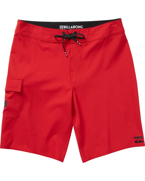 0 Boys' All Day X Boardshorts Red B124NBAL Billabong