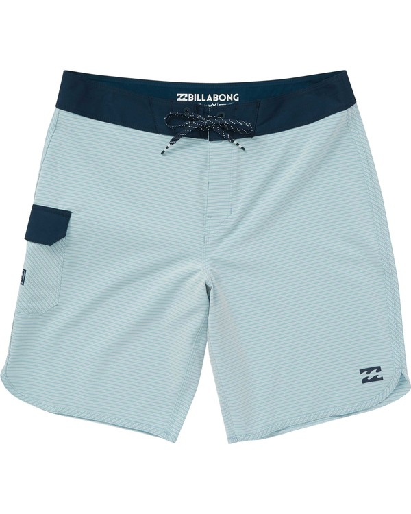 0 Boys' 73 X Boardshorts Blue B128NBST Billabong
