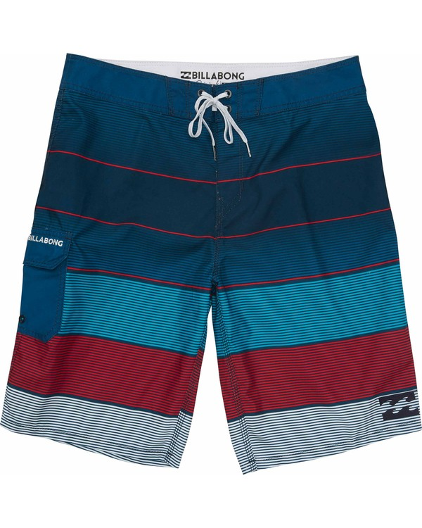 0 Boys' All Day OG Stripe Boardshorts  B160MASO Billabong