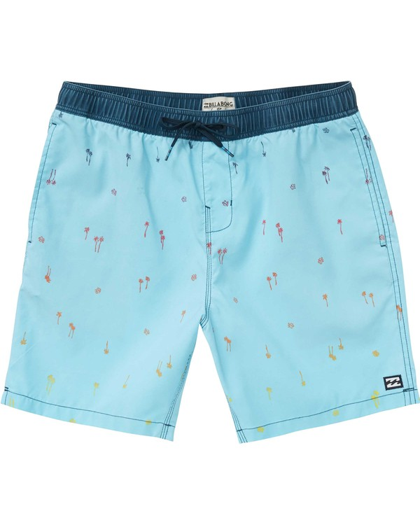 0 Boys' Sundays Layback Boardshorts  B182PBSU Billabong