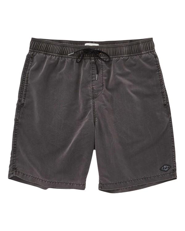 0 Boys' All Day Layback Boardshorts Black B182TBAD Billabong