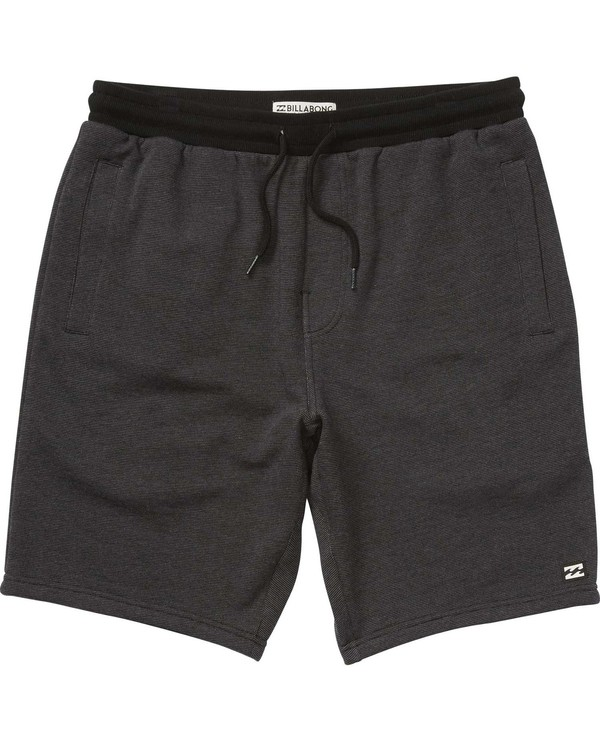 0 Boys' Balance Shorts Black B200LBAL Billabong