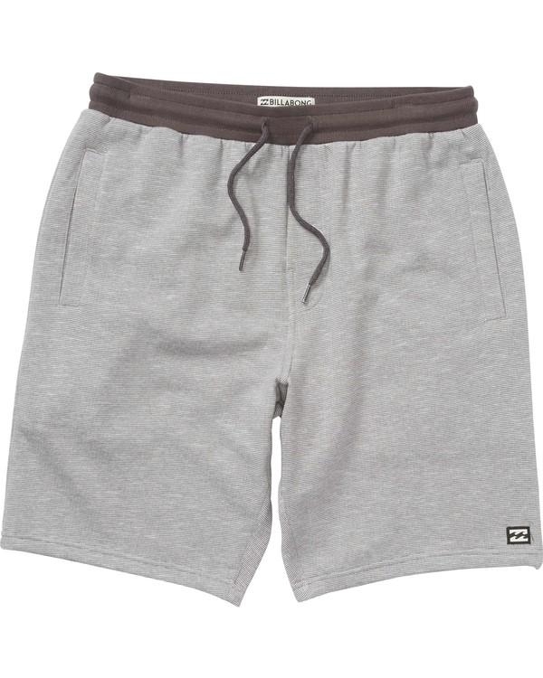 0 Boys' Balance Shorts Grey B200LBAL Billabong