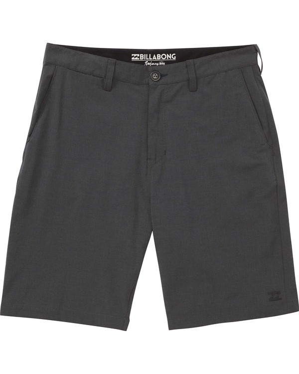 0 Boys' Crossfire X Submersibles Shorts Black B201ECRX Billabong