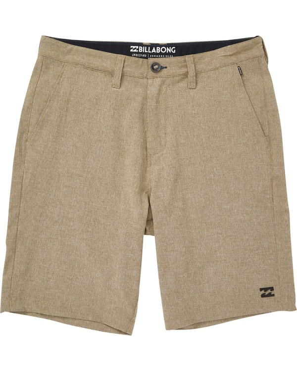 0 Boys' Crossfire X Shorts Green B201TBCX Billabong