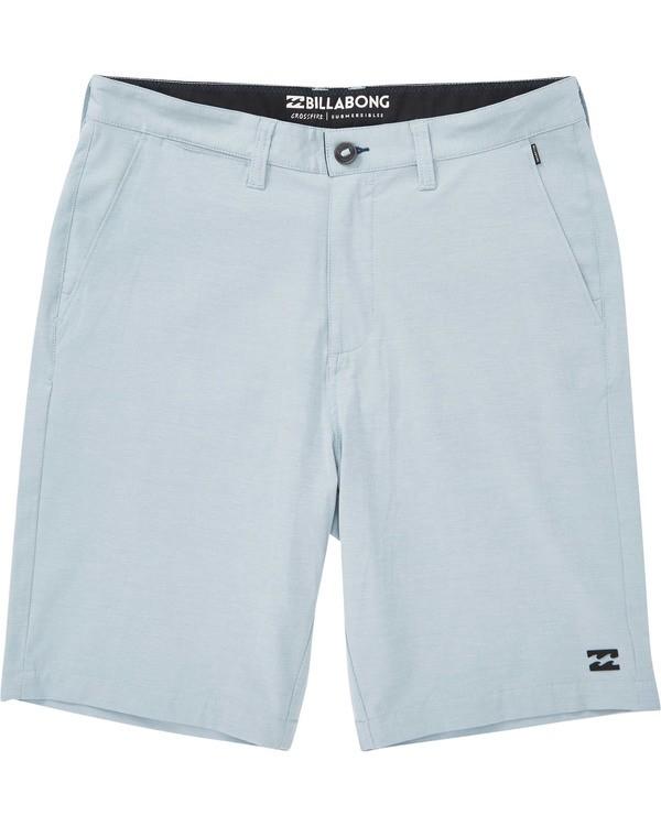 0 Boys' Crossfire X Shorts Blue B201TBCX Billabong