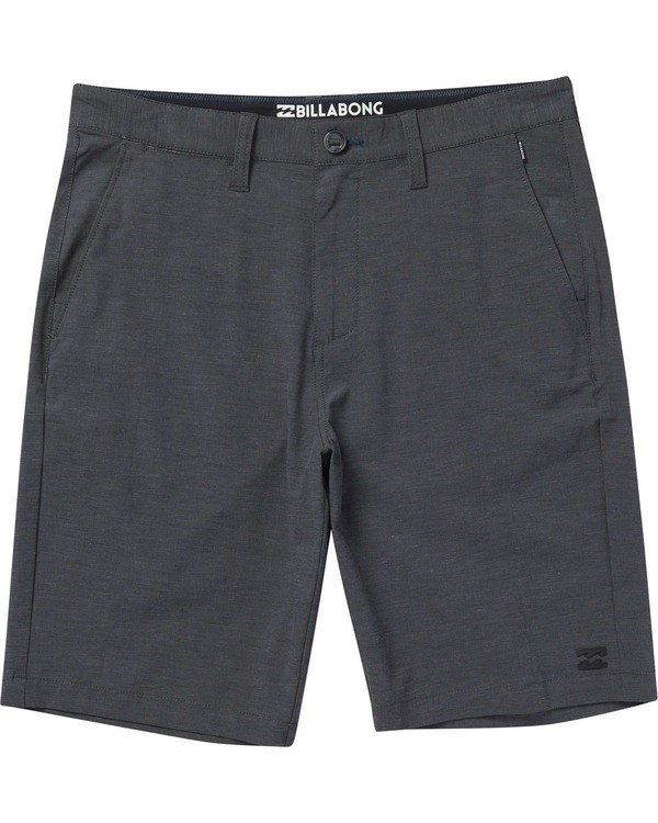 0 Boys' Crossfire X Shorts Black B202NBCX Billabong