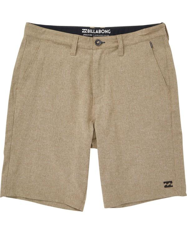 0 Boys' Crossfire X Shorts Green B202NBCX Billabong