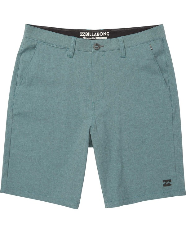 0 Boys' Crossfire X Shorts Blue B202NBCX Billabong
