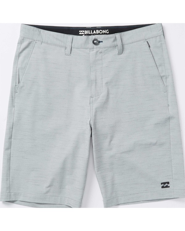 0 Boys' Crossfire X Slub Hybrid Short  Boardshorts  B202TBCS Billabong