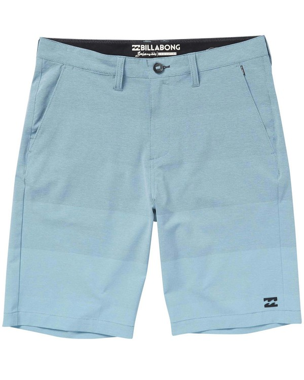 0 Boys' Crossfire X Faderade Shorts Blue B206NBCF Billabong