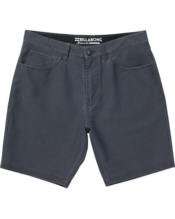 0 Boys' Outsider X Surf Cord Shorts Black B211NBOC Billabong