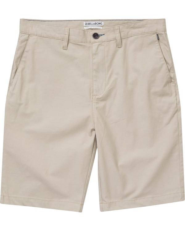 0 Boys' Carter Stretch Shorts Green B231NBCS Billabong