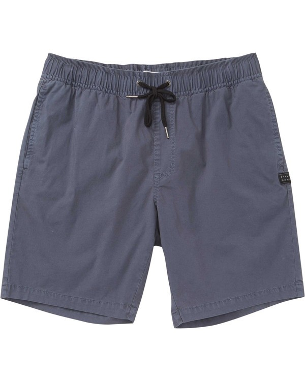 0 Boys' Larry Layback Shorts Grey B239TBLL Billabong