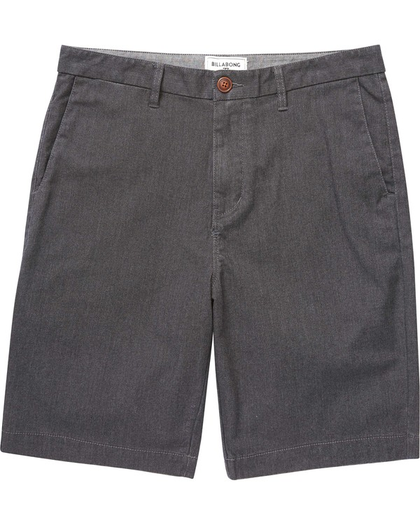 0 Boys' Carter Stretch Shorts Black B250GCAS Billabong
