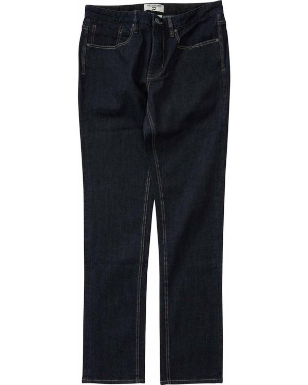0 Boys' Outsider Jean Pant Blue B300LOUT Billabong
