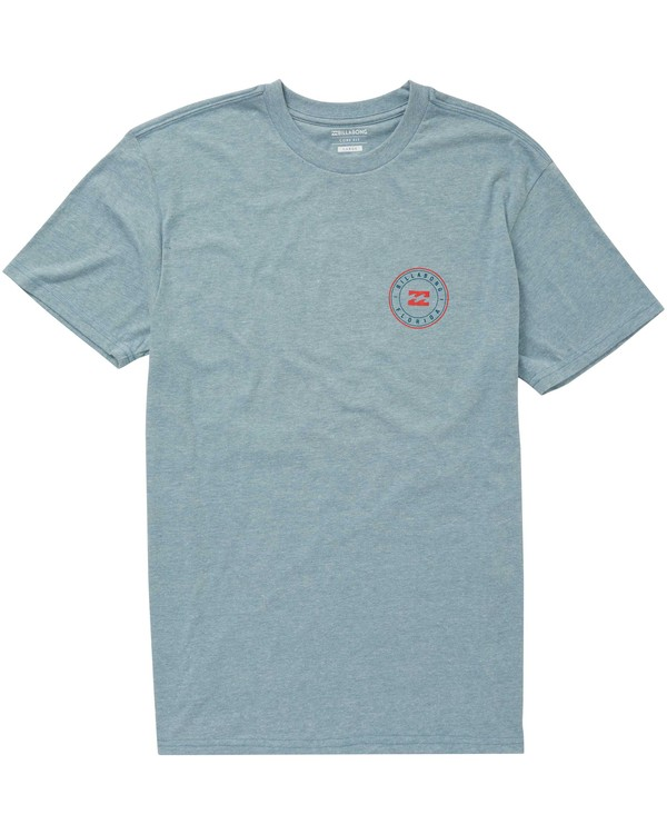 0 Boys' Native Rotor Fl Tee Blue B401NBNF Billabong