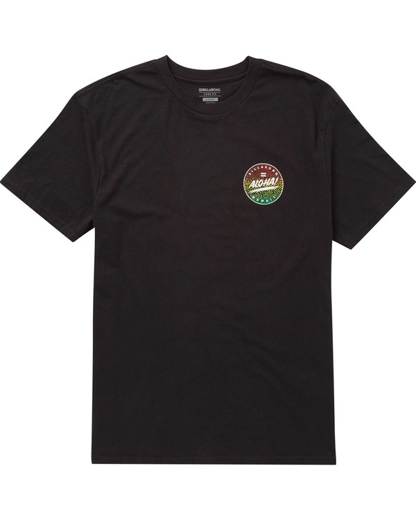 0 Boys' Aloha Tee Black B401PBAO Billabong