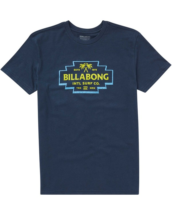 0 Boys' Hacienda Tee Blue B401PBHA Billabong