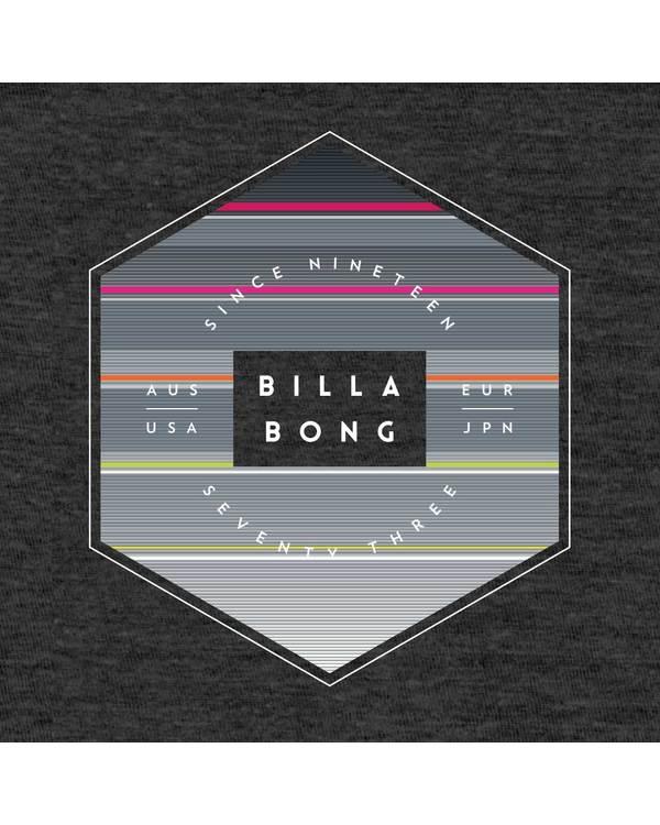 0 Boys' Access Tee Black B401QBAC Billabong