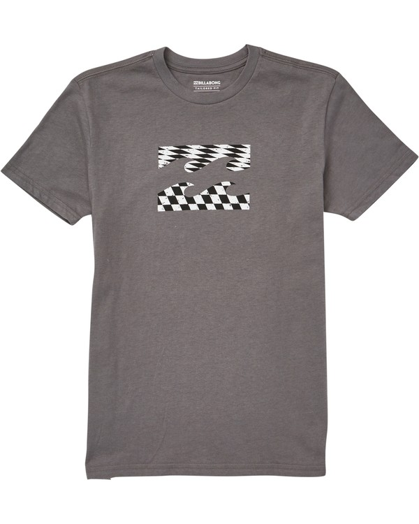 0 Boys' Team Wave Tee Grey B401QBTE Billabong