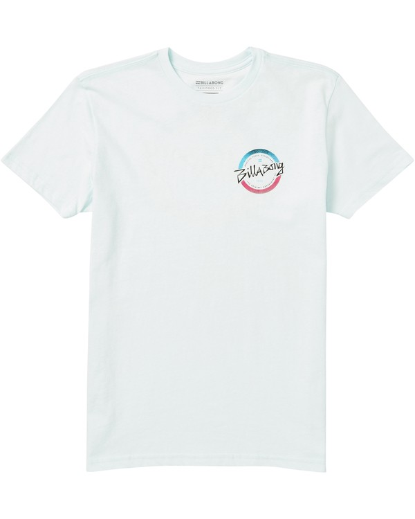 0 Boys' Eighty Six Tee Shirt Blue B401SBEI Billabong