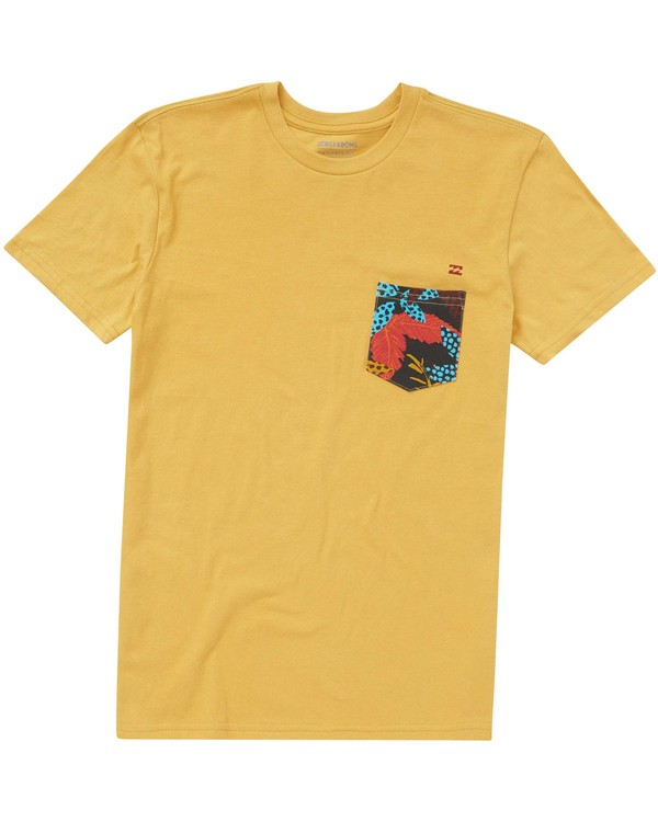 0 Boys' Team Pocket Tee  B431PBTP Billabong