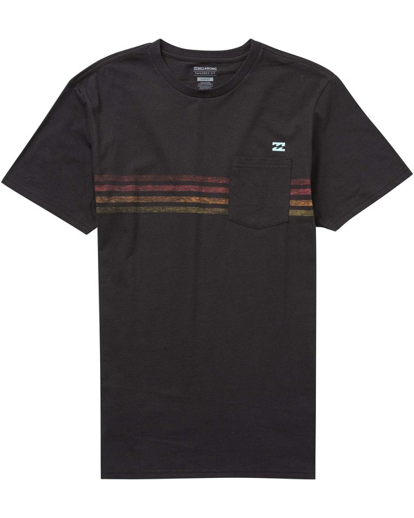 0 Boys' Team Stripe Tee  B431PBTS Billabong