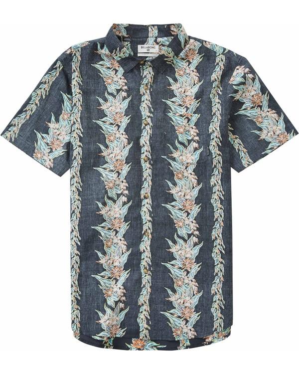 0 Boys' Sundays Floral Short Sleeve Shirt  B501LSUF Billabong