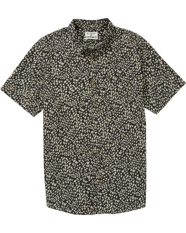 0 Boys' Sundays Mini Short Sleeve Shirt  B508PBSM Billabong
