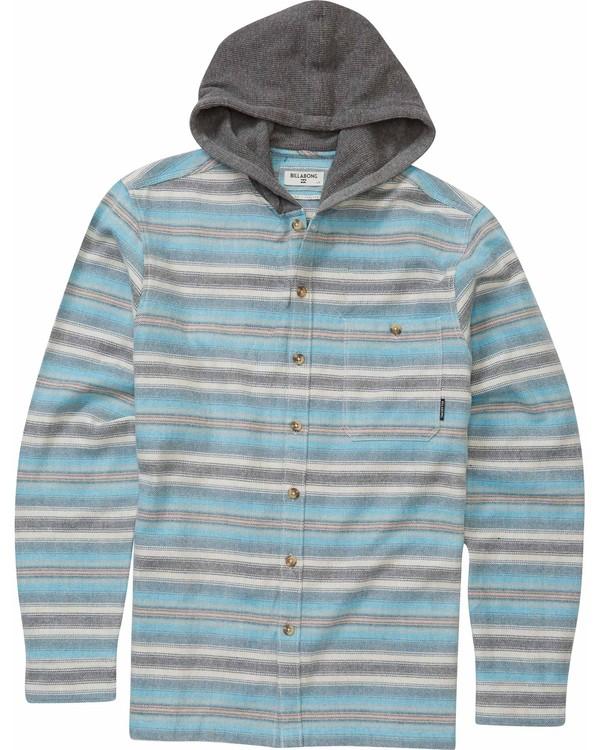 0 Boys' Baja Flannel Shirt  B509MBAJ Billabong